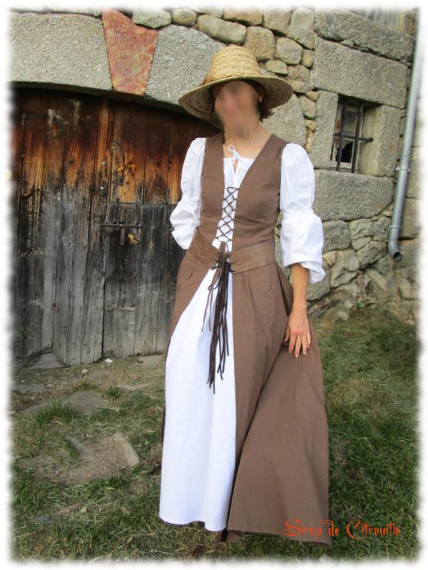 robe médiévale 5