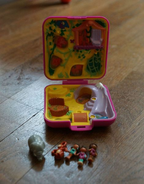 Polly Pocket jungle