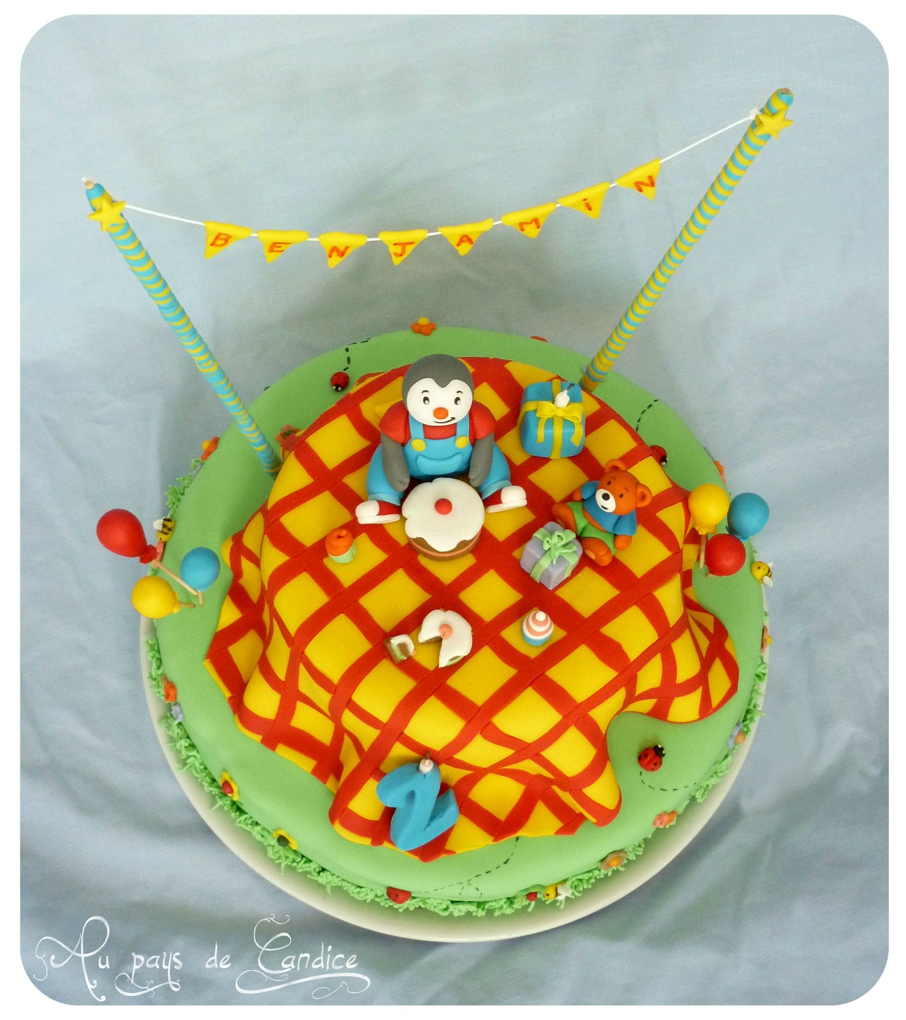 1000 images about gateau tchoupi on pinterest - Anniversaire tchoupi ...