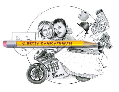 caricature_fiat_yamaha_team_2010