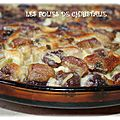 Clafoutis rhubarbe cerises ( thermomix)