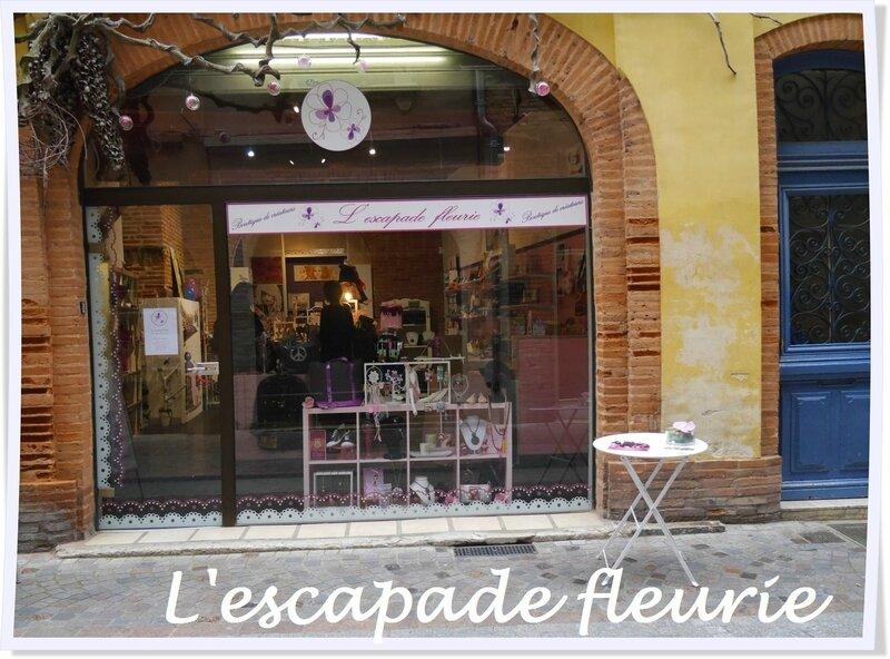 """Boutique """"l'Escapade fleurie"""""""