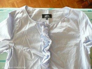 La maison de Marthe & Marie chemise à jabot 2