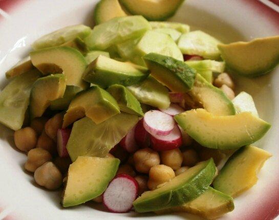 Salade couleurs d'été (2)