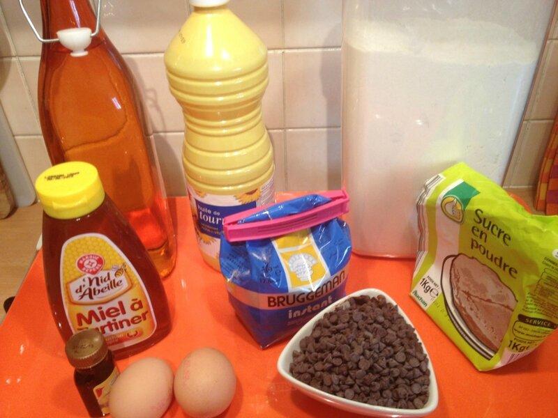 Briochettes au chocolat (2)