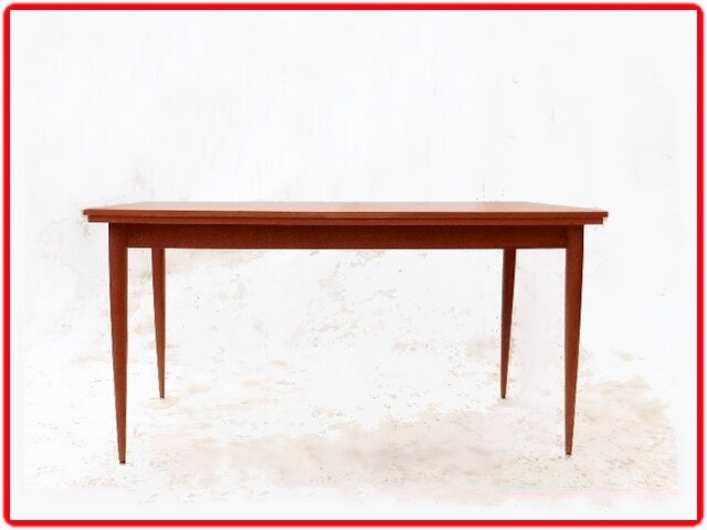 Table et chaises de salle manger vintage annees 1970 for Table de salle a manger 15 couverts