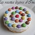 Cheesecake sans cuisson aux smarties®