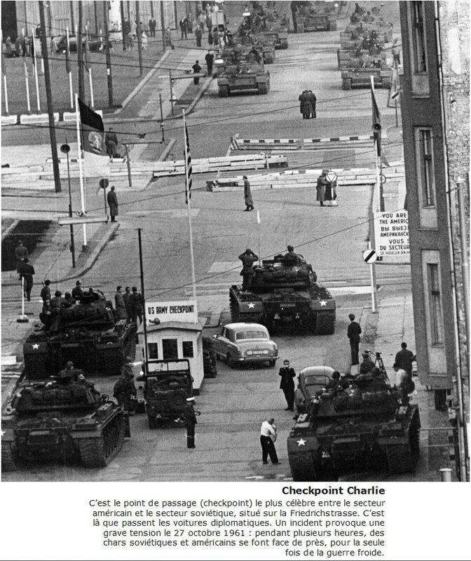 Incident à checkpoint Charlie