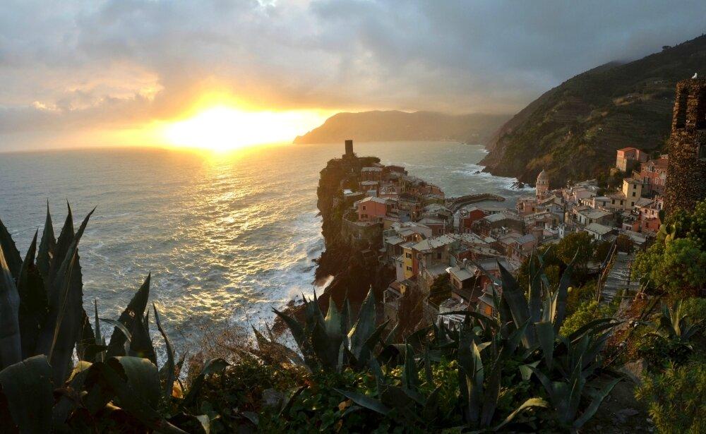 Cinque Terre, des goélands et un tichodrome en vacances