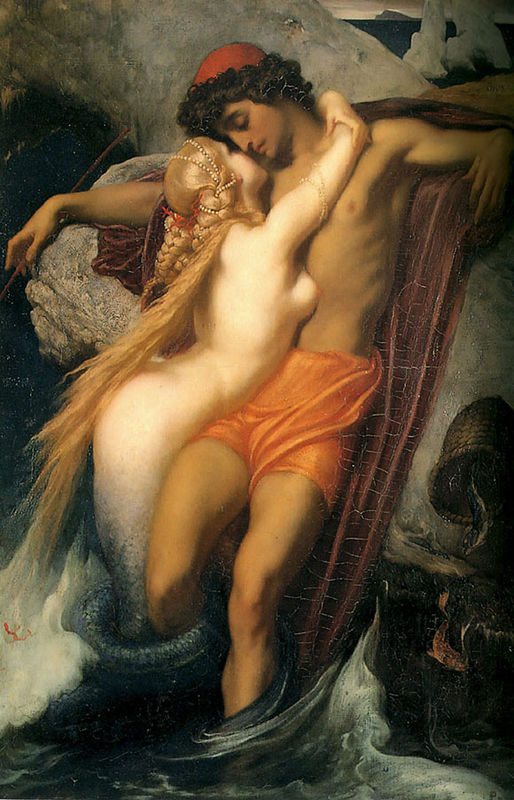 Frederic_Leighton_The_Fisherman_and_the_Siren