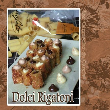 Dolci rigatoni (SCRAP)