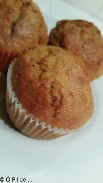 Muffins Façon Carrot Cake (2)