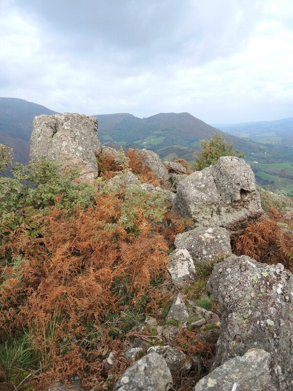 B) Bidarray, Iparla, rochers