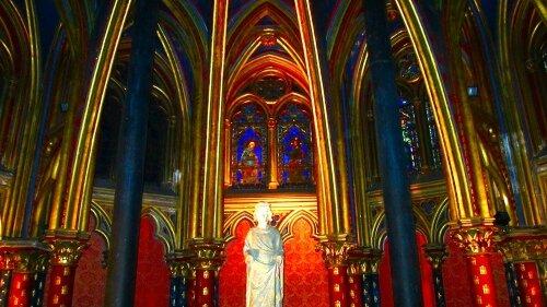 statue Louis X1 saint Louis