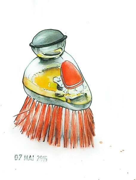 07 - A gadget used for cleaning