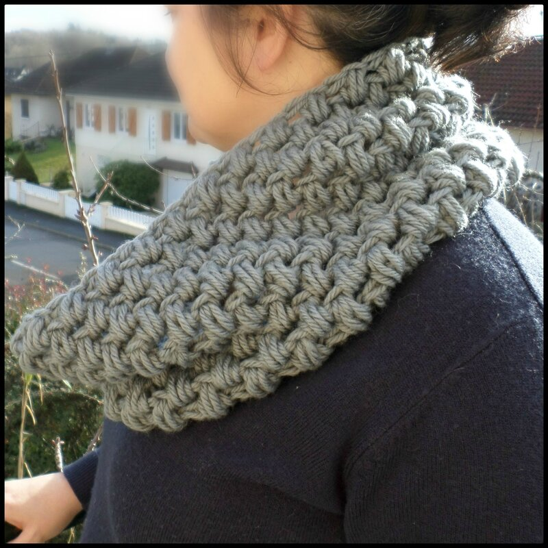 Snood bubble CK12 Cam&Drey bricolent