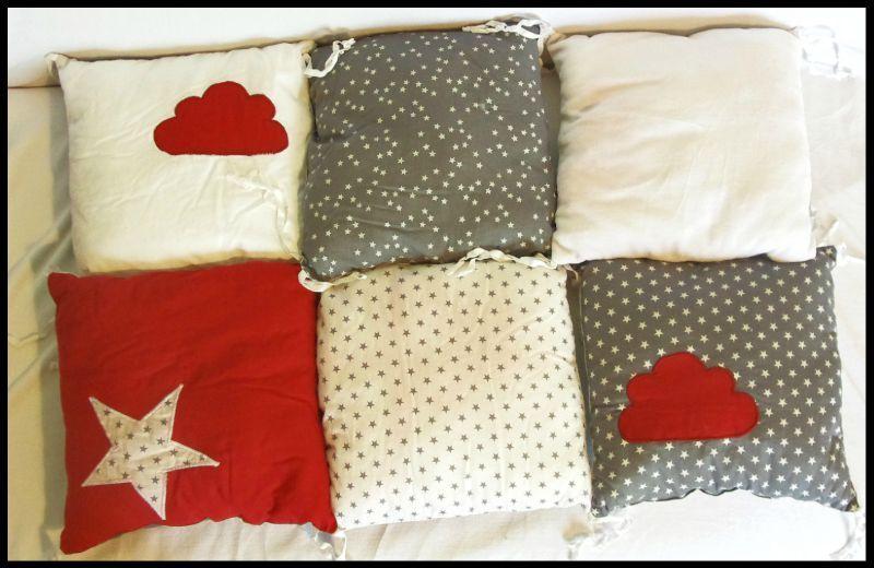 tour de lit nuage boopina cr ation de couches lavables et accessoires. Black Bedroom Furniture Sets. Home Design Ideas