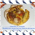 coquilles st jacques en beurre de mangue