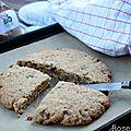 Cookie géant à partager - biovillage marque repère