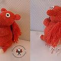 Ecureuil en laine