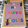 livre :my paper dolls