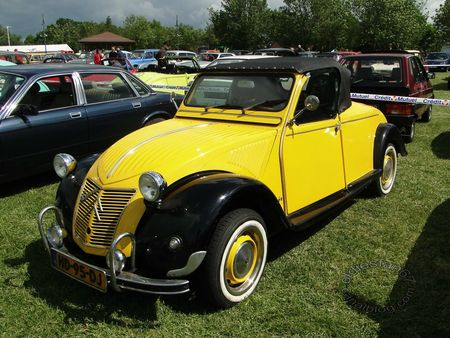 citroen 2cv spider, 1981, retro meus auto madine 2012 3