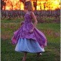 Robe papillonnante ou robe de charme