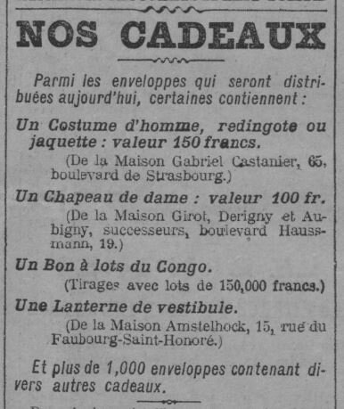 1902 Le Journal Le Queffelec boucher 2