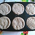 Crêpes a la farine de châtaigne
