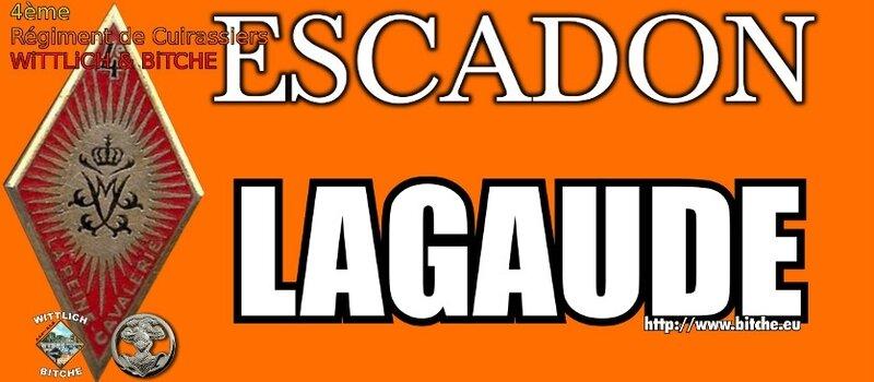 - PANNEAU d' ESCADRON CAPiTAiNE LAGAUDE
