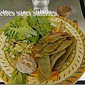 Mon assiette vg aujourd'hui pour partager avec vous les résultats de recettes.de et de cuisinevg dont je faisais pa