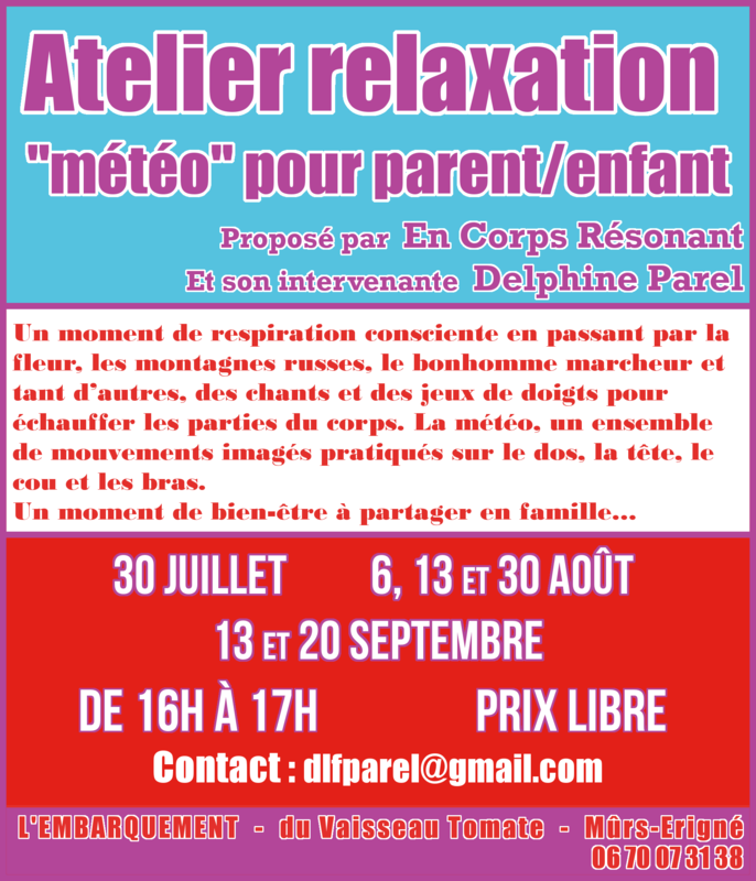 Delphine Parel (Atelier relaxation)