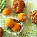 Mini cake aux abricots-gâteau aux abricots