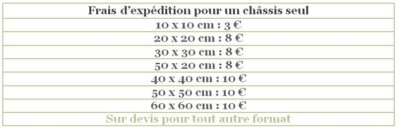 Couts d'expedition 2018