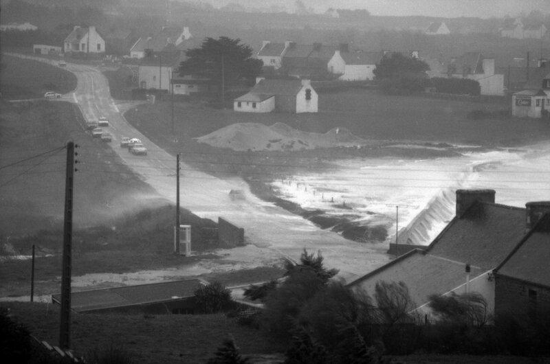 Ch26 - Tempête sur la nouvelle route du Loch en 1981c