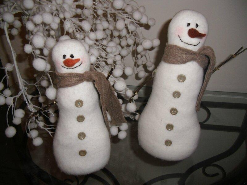 Comment faire un bonhomme de neige sans neige petites bulles de creas - Comment faire un bonhomme ...