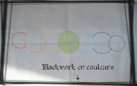 Blackwork en couleurs 4