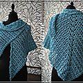 Audrey's shawl (le châle d'audrey au crochet)