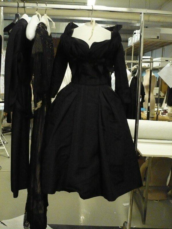 Robe sans griffe 1950