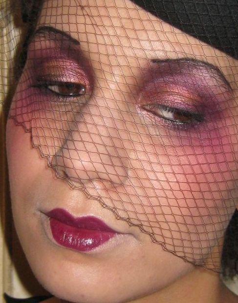 Le on de maquillage ann es 20 artistique dita makeup - Maquillage annee 20 ...