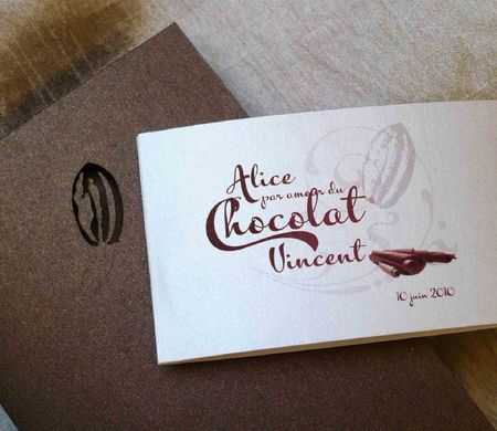 Faire-Part Chocolat 3