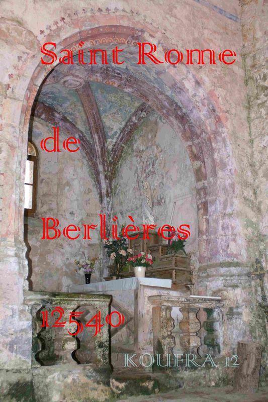 ST ROME DE BERLIERES Garde