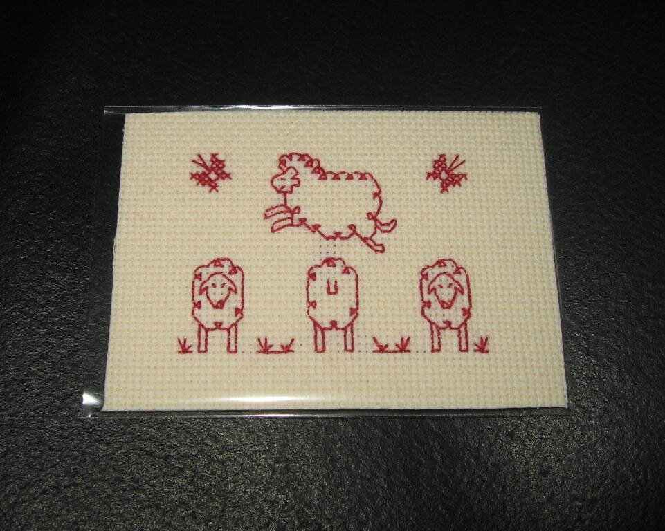 passionbroderie7 ATC mouton