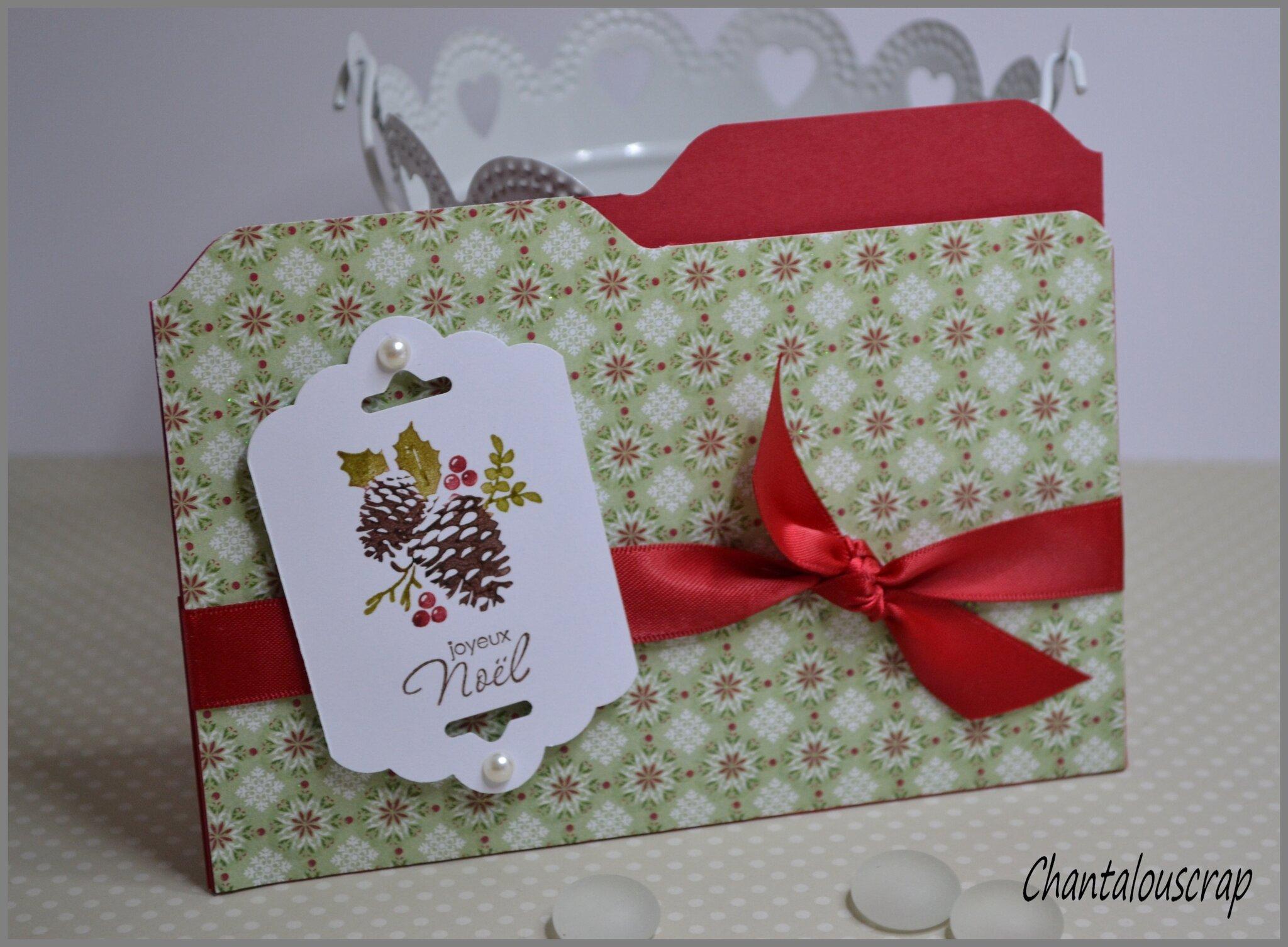 Les petites pochettes cadeaux offertes à Noël