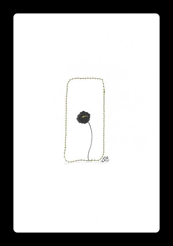 dessin fleur encre de chine 2 - Copie
