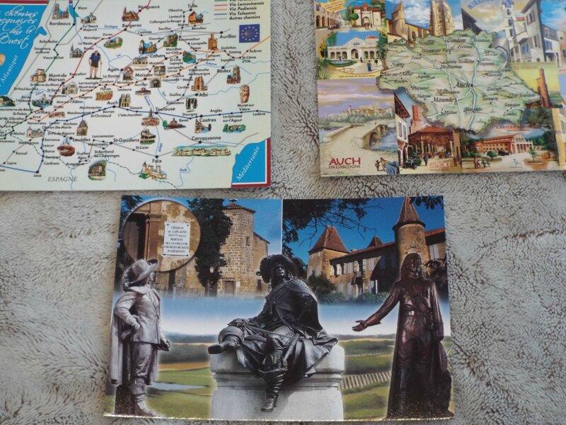 Cartes postales pour Véro