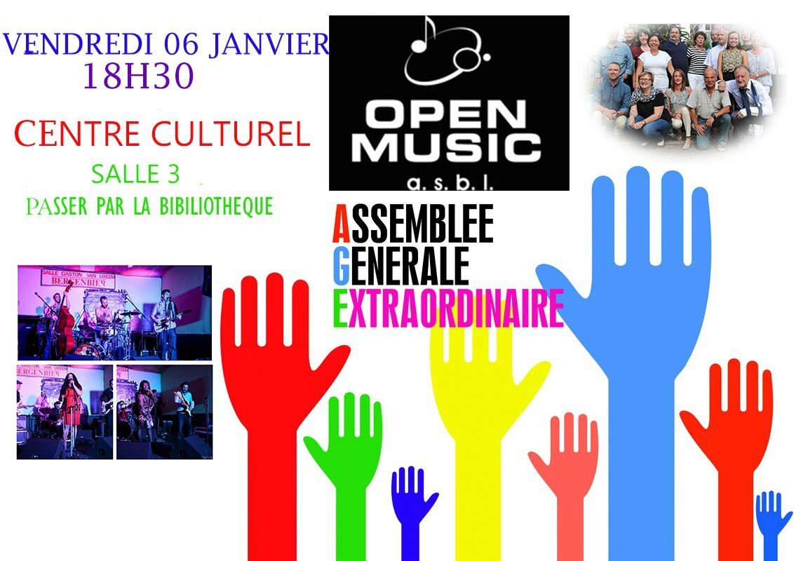 OPEN MUSIC : Appel à candidature