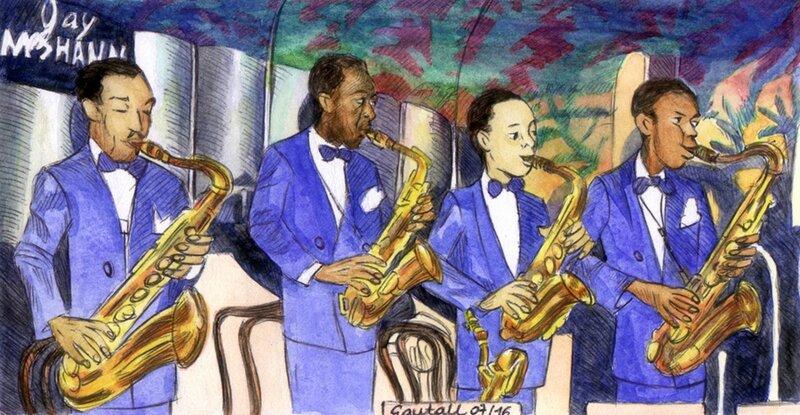 09 Charlie jeune Big Band