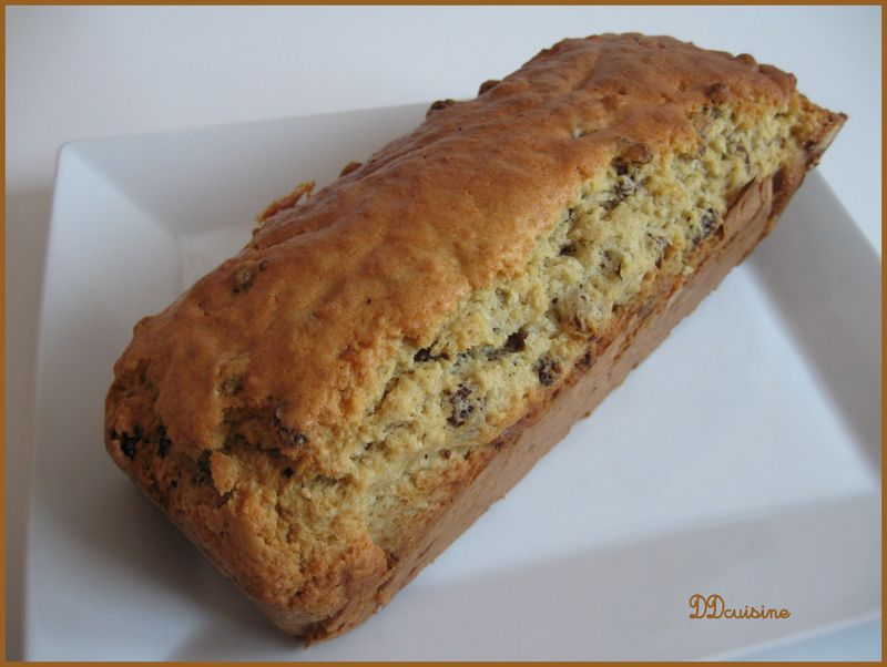 Gateau pruneau raisin