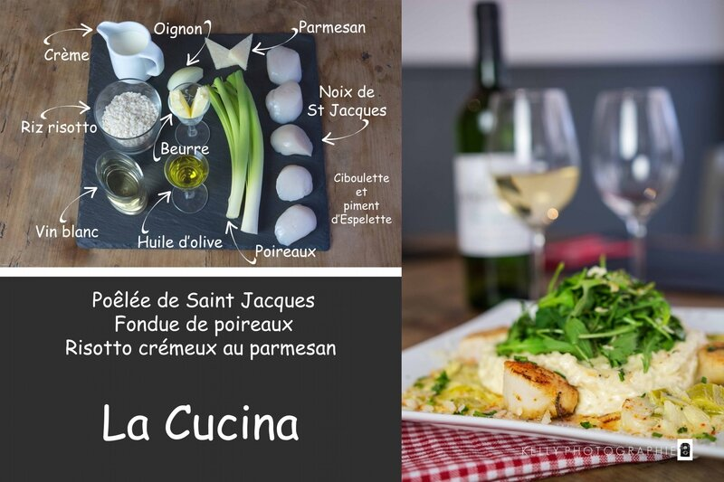 Risotto de St Jacques
